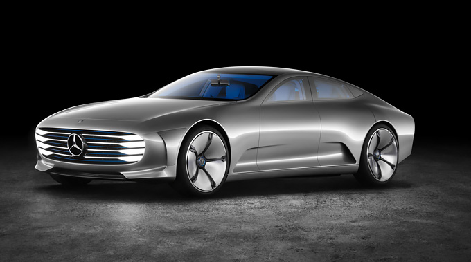 Mercedes baut einen Tesla-Fighter