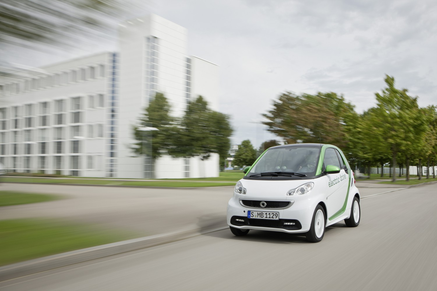 smart fortwo electric drive Produktion [Video]