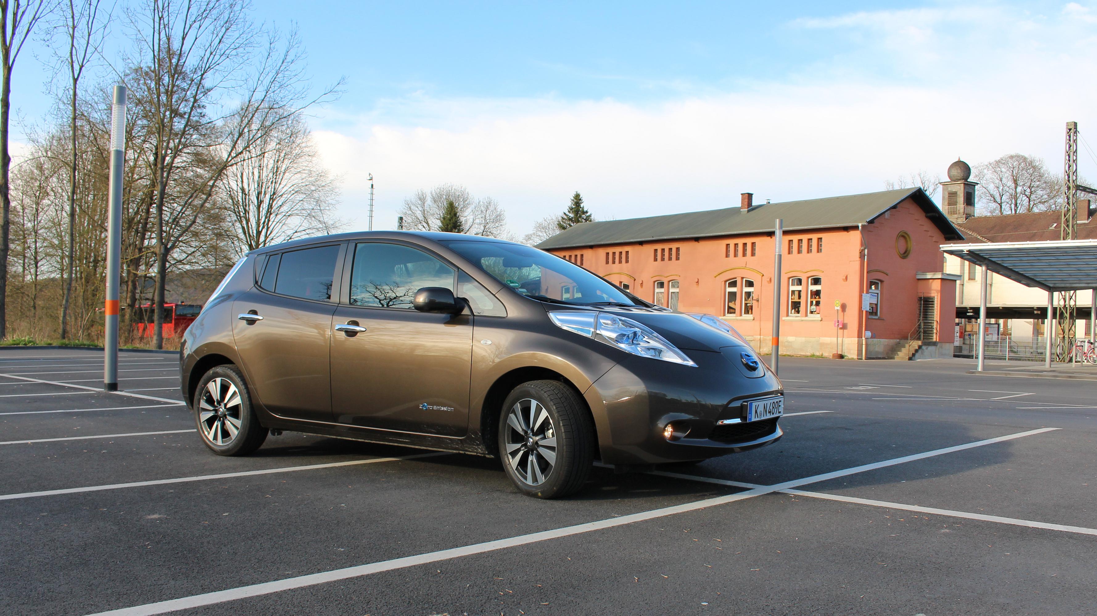 Unterwegs im 30 kWh Nissan Leaf – noch immer nicht leer?