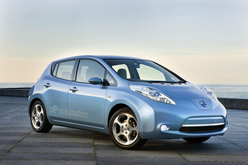 Elektroauto Dienstwagen Nissan Leaf