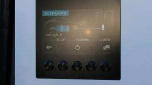 54 kW Schnellladung an der e8energy @express