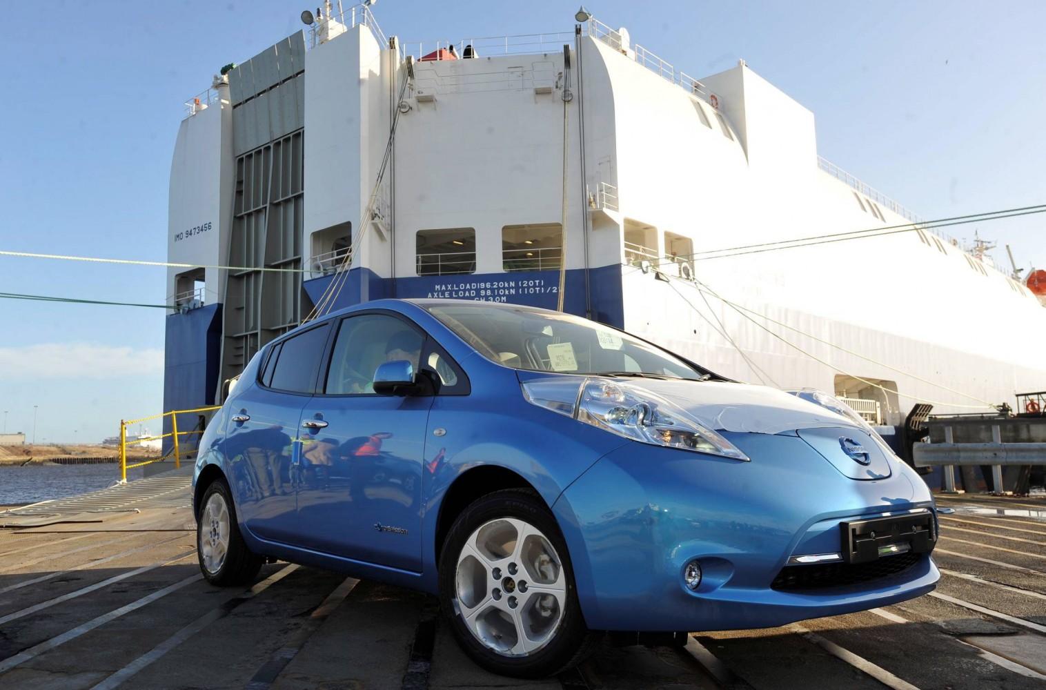 Nissan Leaf erhält 2013 Update