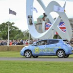 Nissan Leaf Rekord Goodwood