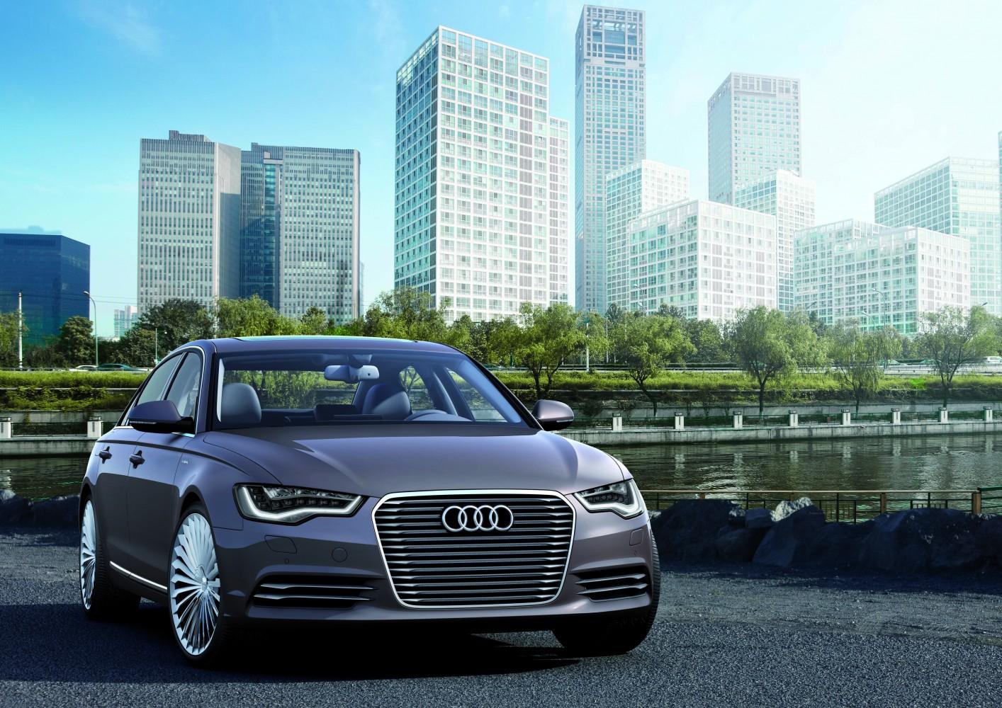 Audi A6 L e-tron concept – Peking 2012