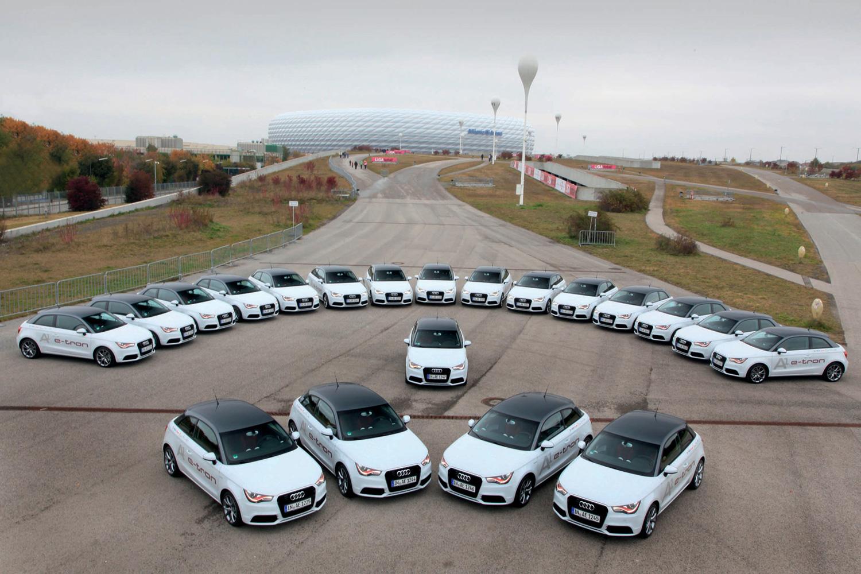 Pilotprojekt mit Audi A1 e-tron in München gestartet
