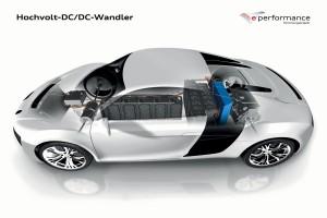 Audi F12 e performance DC-DC Wandler
