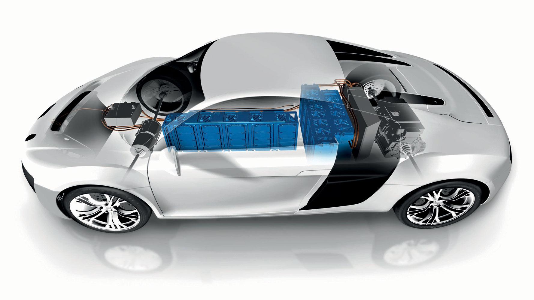 Audi F12 e performance, Audi R8 e-tron Zwilling [Video]