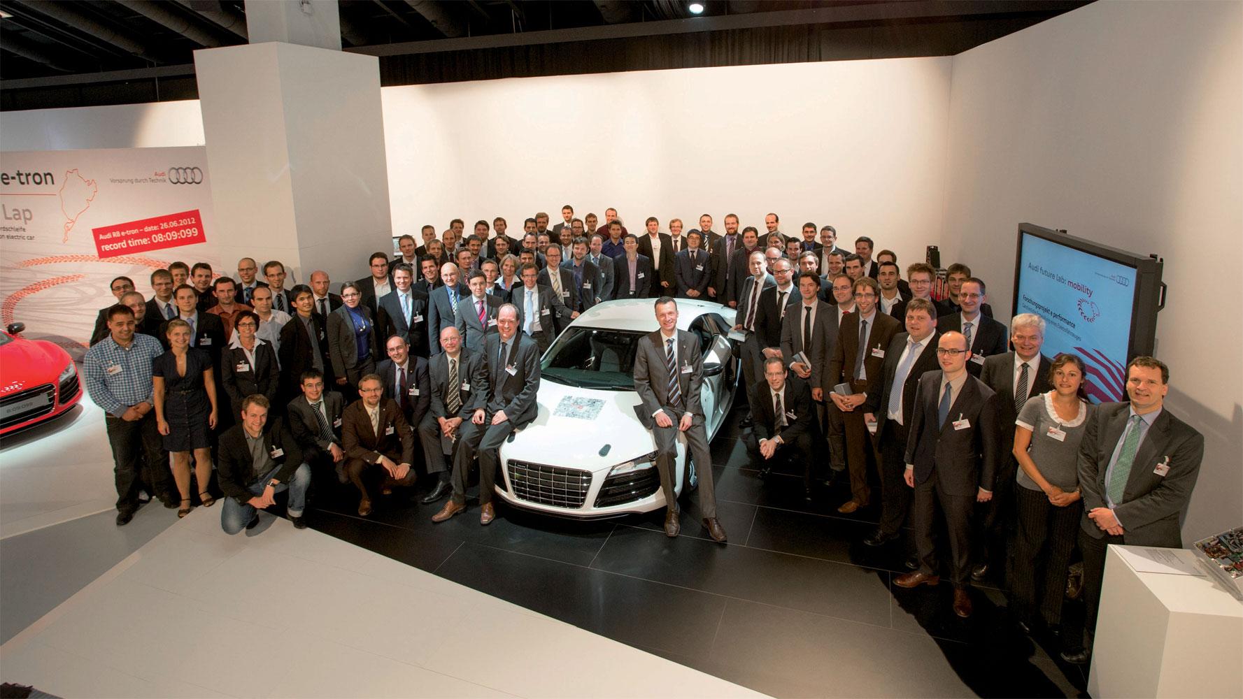 Audi schließt Projekt e performance ab