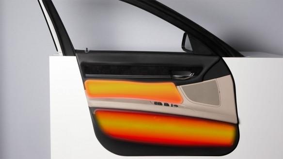 BMW Infrarot-Heizfläche Tür