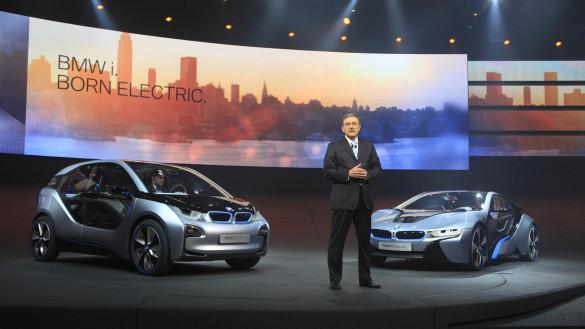 BMW: Zu wenige Anreize für Entwicklung von Elektroautos