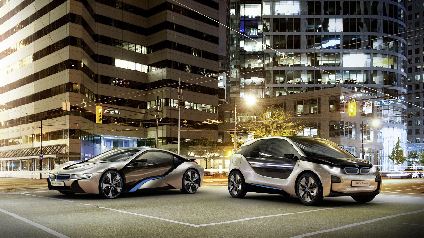 Promotion Video des BMW i3 Concept und i8 Concept