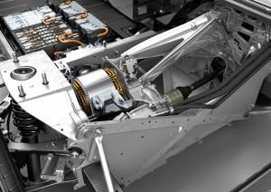 BMW i3 Antrieb Batterie