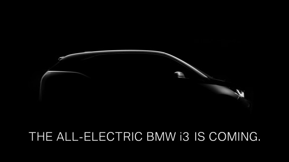 BMW i3 Teaser Video