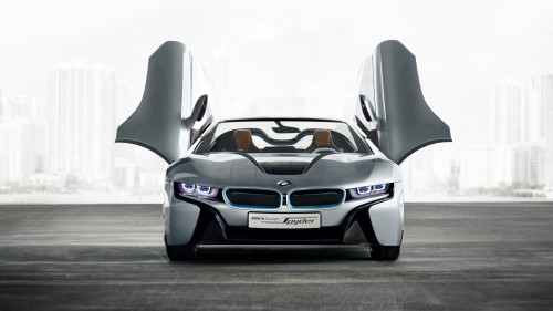 "BMW i8 ""North American Concept Car of the Year"""