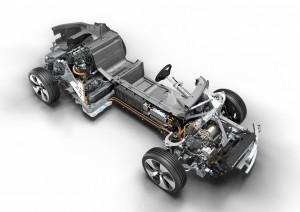 BMW i8 Struktur