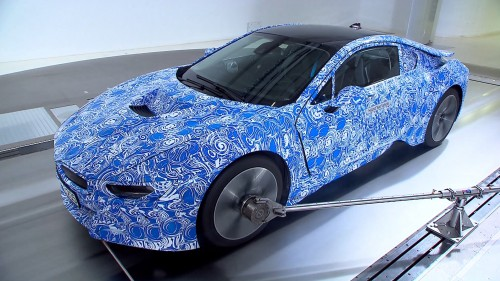 BMW i8 Videos von Entwicklung und Windkanal