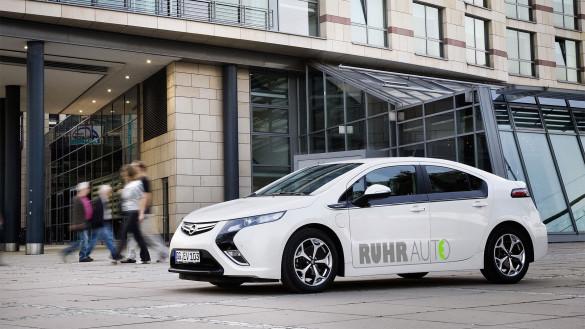 Carsharing RuhrAuto Opel Ampera