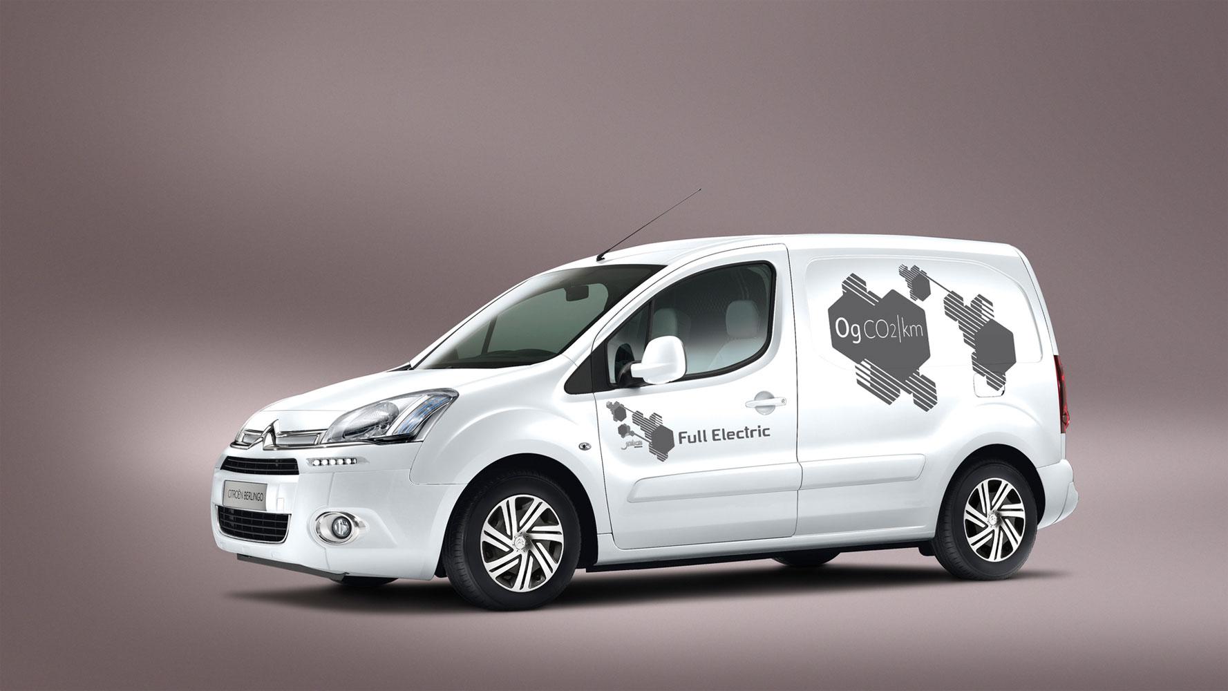 Citroën Berlingo Electrique feiert Weltpremiere auf der IAA Nutzfahrzeuge