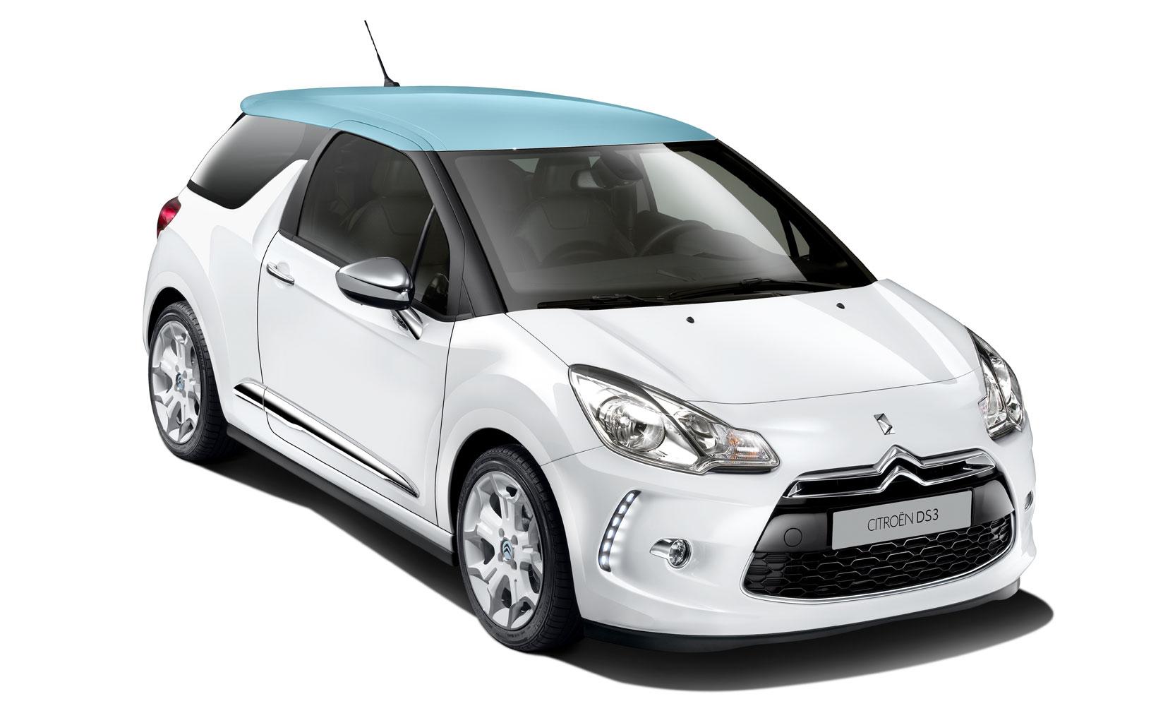 Citroën DS3 Electrum auf Autosalon Paris