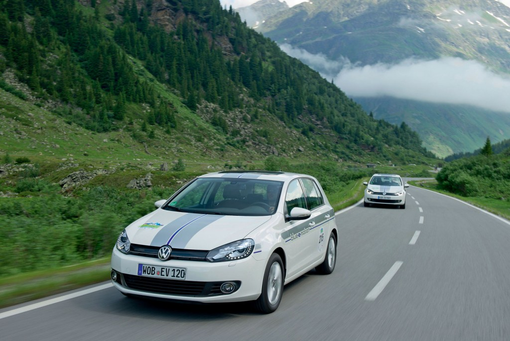 Silvretta E-Auto Rallye Golf Blue-e-Motion