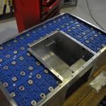 Viel Platz für Energie: Die Batteriezellen; Foto: Mobility Engineering