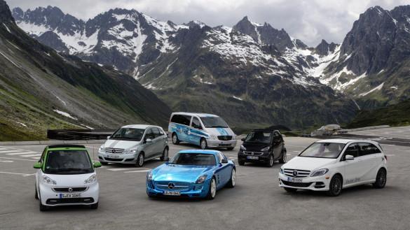 Daimler ist Marktführer bei Elektroautos in Deutschland