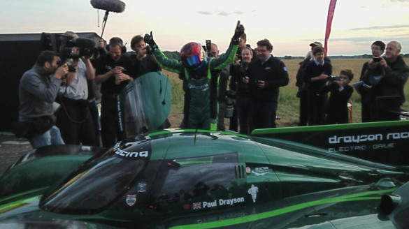 Drayson schnellstes Elektroauto Weltrekord