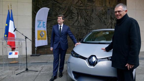 Erster Renault ZOE ausgeliefert