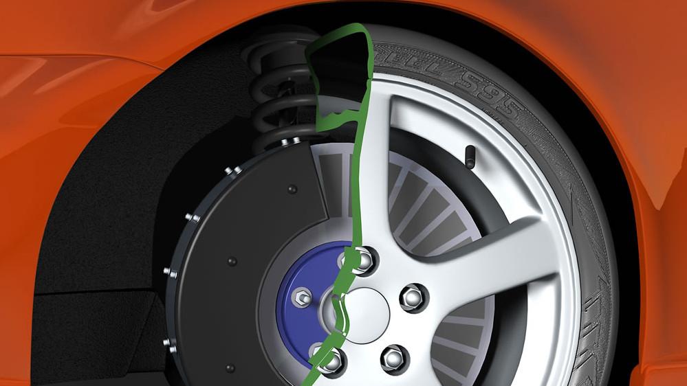 Evans Electric zeigt Radnabenmotor im Lancer Evo 3