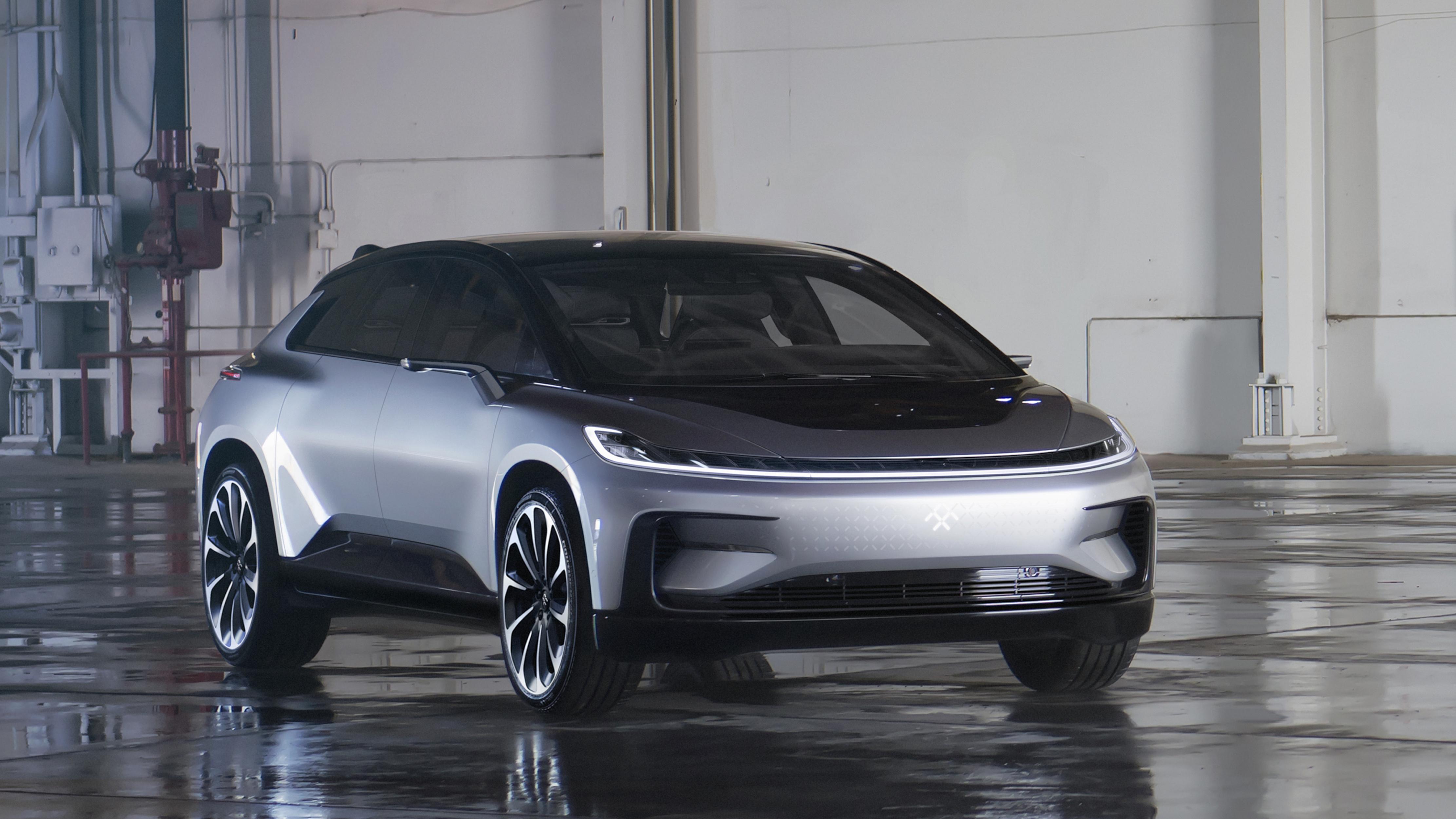 Faraday Future stellt das E-SUV FF 91 in Las Vegas vor