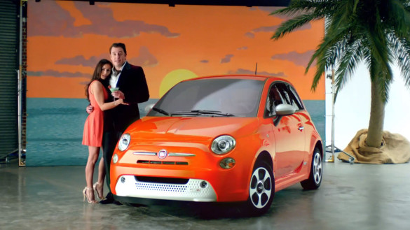 Fiat 500e Werbung - Environmentally Sexy