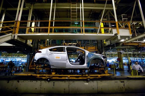 GM hält Chevrolet Volt / Opel Ampera Produktion an