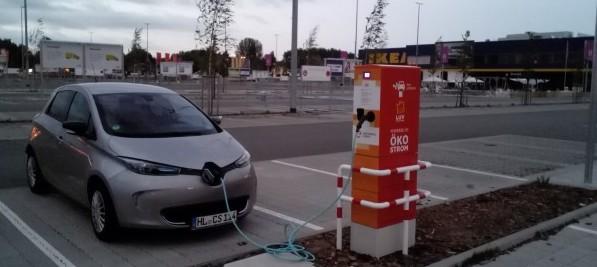 Nur wenig neue E-Autos auf deutschen Straßen