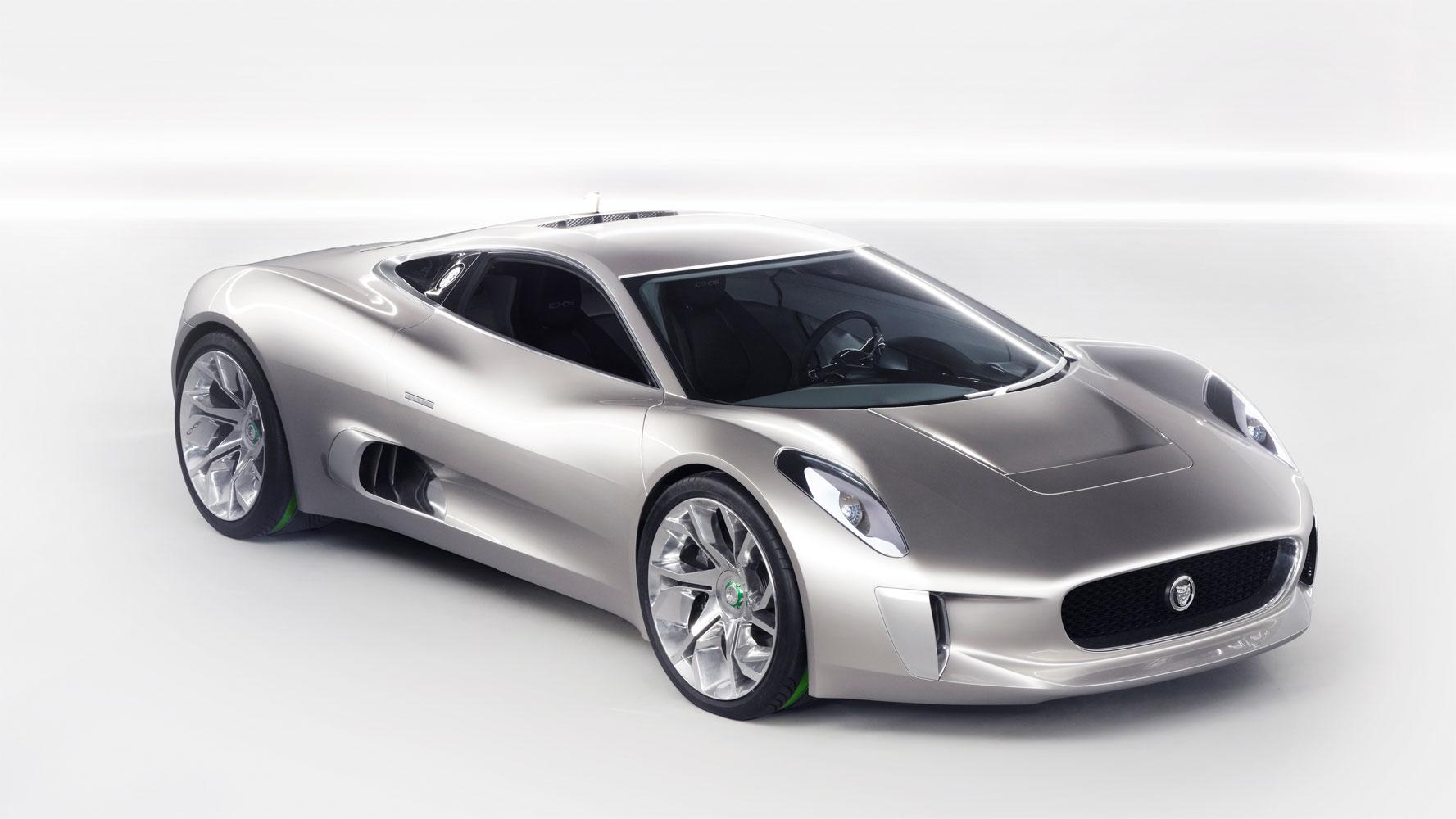 Video zur Entwicklung des Jaguar C-X75