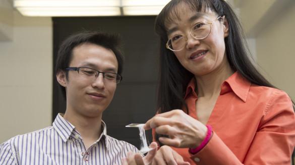 Gummiartiger Elektrolyt für  mehr Sicherheit