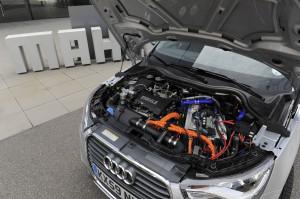 Mahle Audi A1 Range Extender Motorraum
