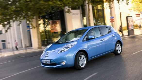 Nissan Leaf in Deutschland nun 3.000 Euro günstiger