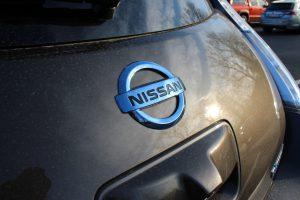Nissan Leaf Emblem