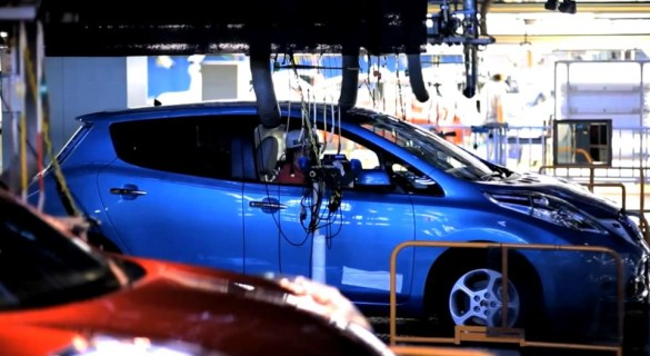 Nissan Leaf Produktion Tennessee