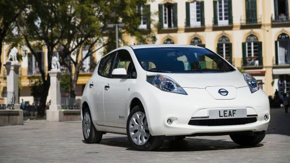 Nissan Leaf in der Schweiz 3 Monate testen