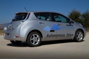 Nissan Leaf als autonomes Auto