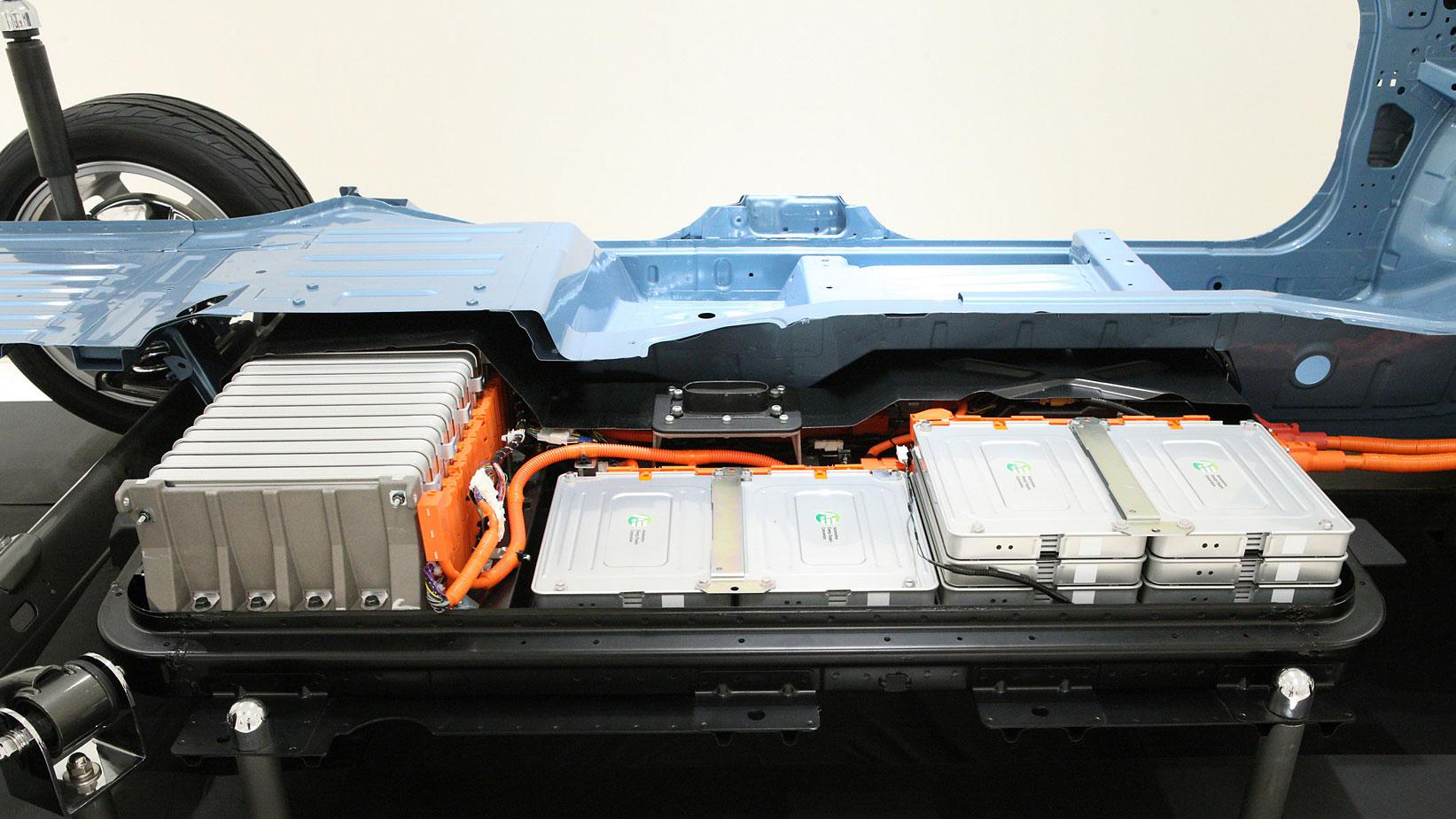 Nissan Leaf erhält 2014 neue Batterie