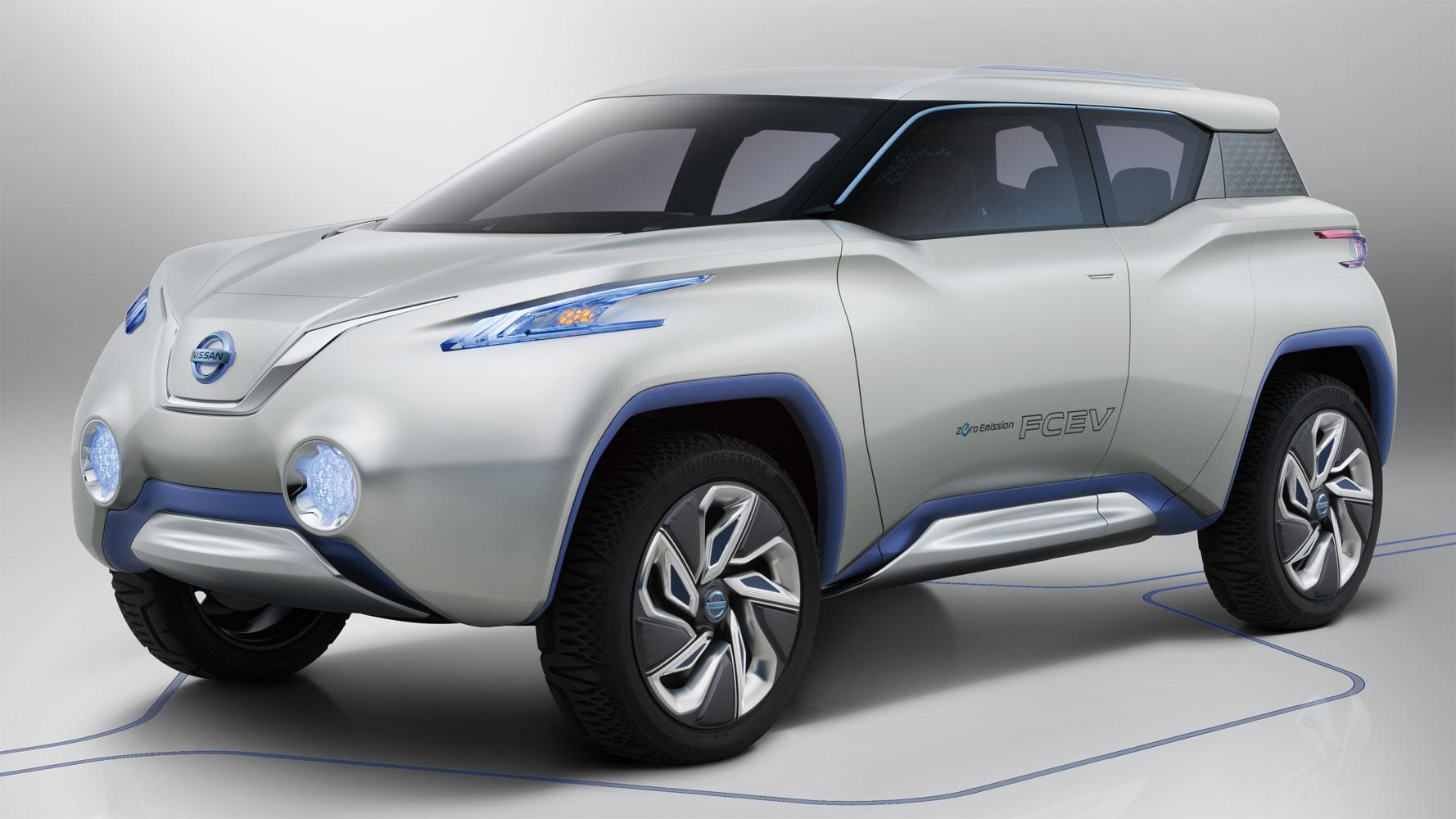 Nissan TeRRA: Brennstoffzellen SUV Studie auf Pariser Autosalon [Video]