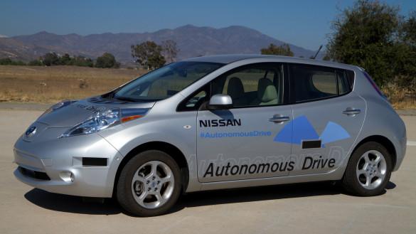 Nissan will 2020 autonome Fahrzeuge anbieten