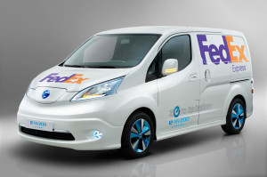 Nissan e-NV200 FedEx