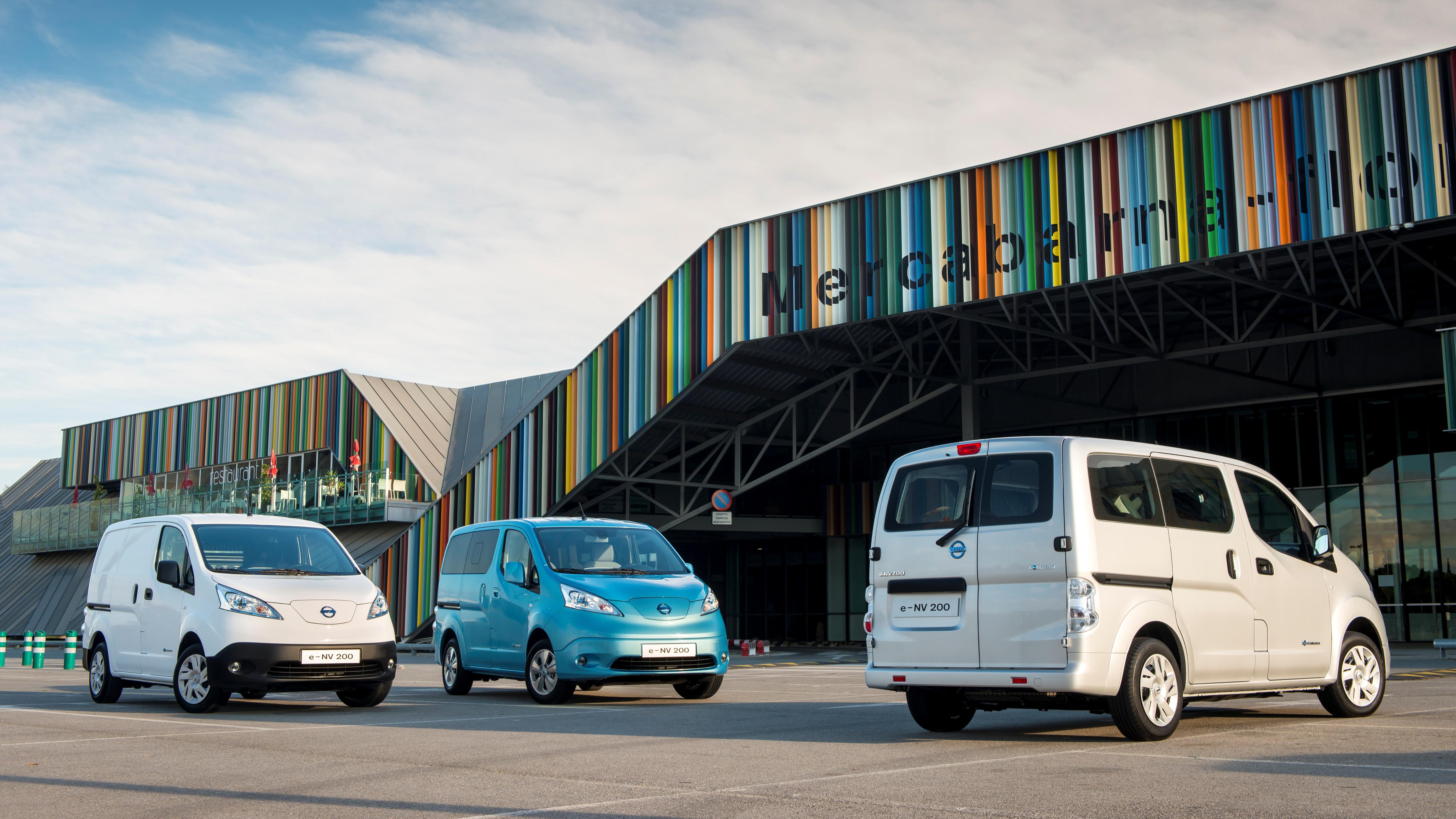 Test Nissan e-NV200 Van und Evalia