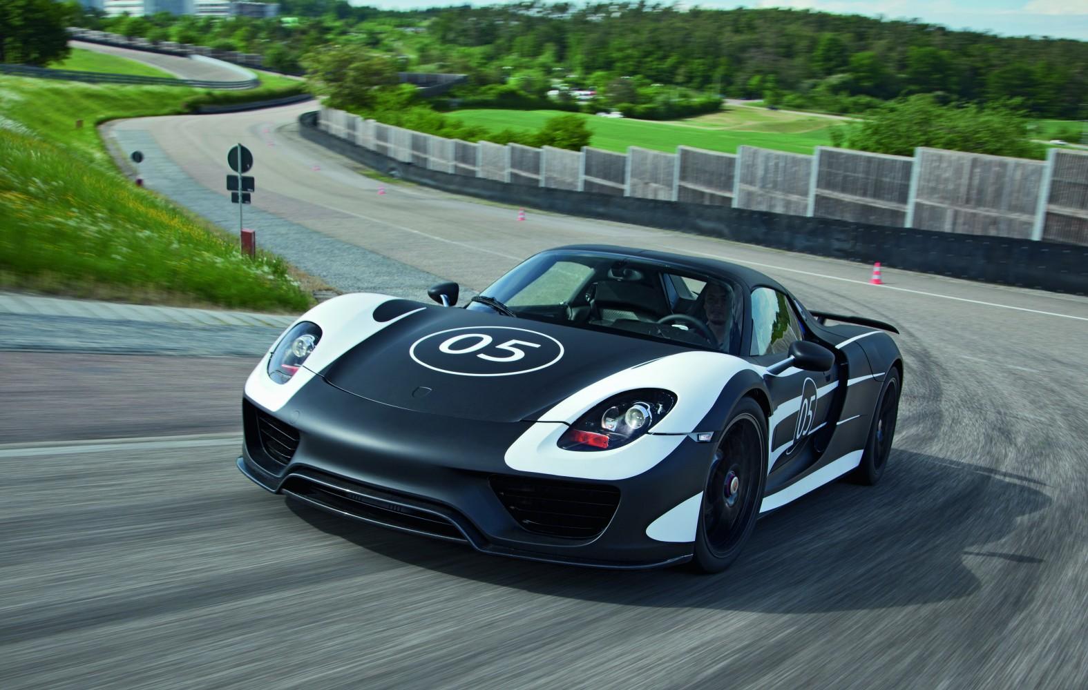 Porsche 918 Spyder in Erprobung