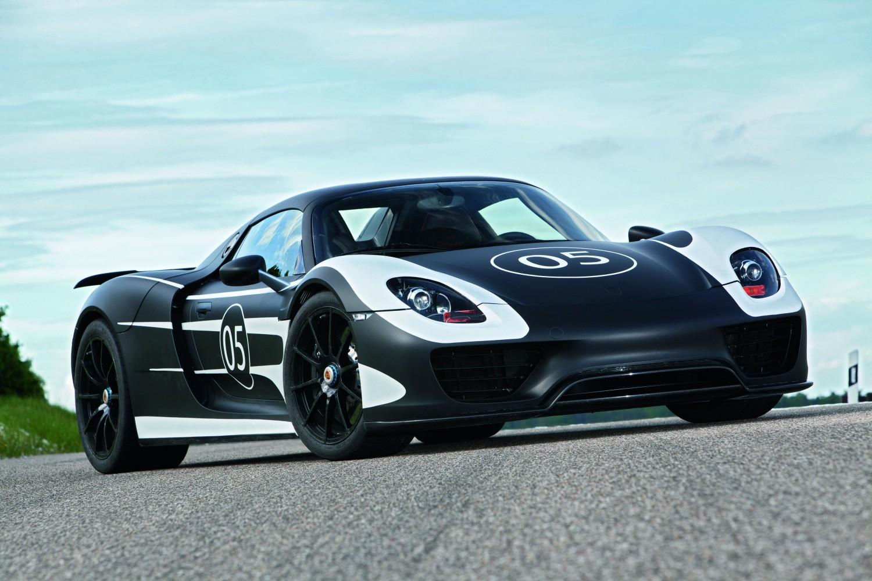 Porsche 918 auf der Nordschleife [Video]
