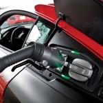 Audi R8 e-tron: CHAdeMO