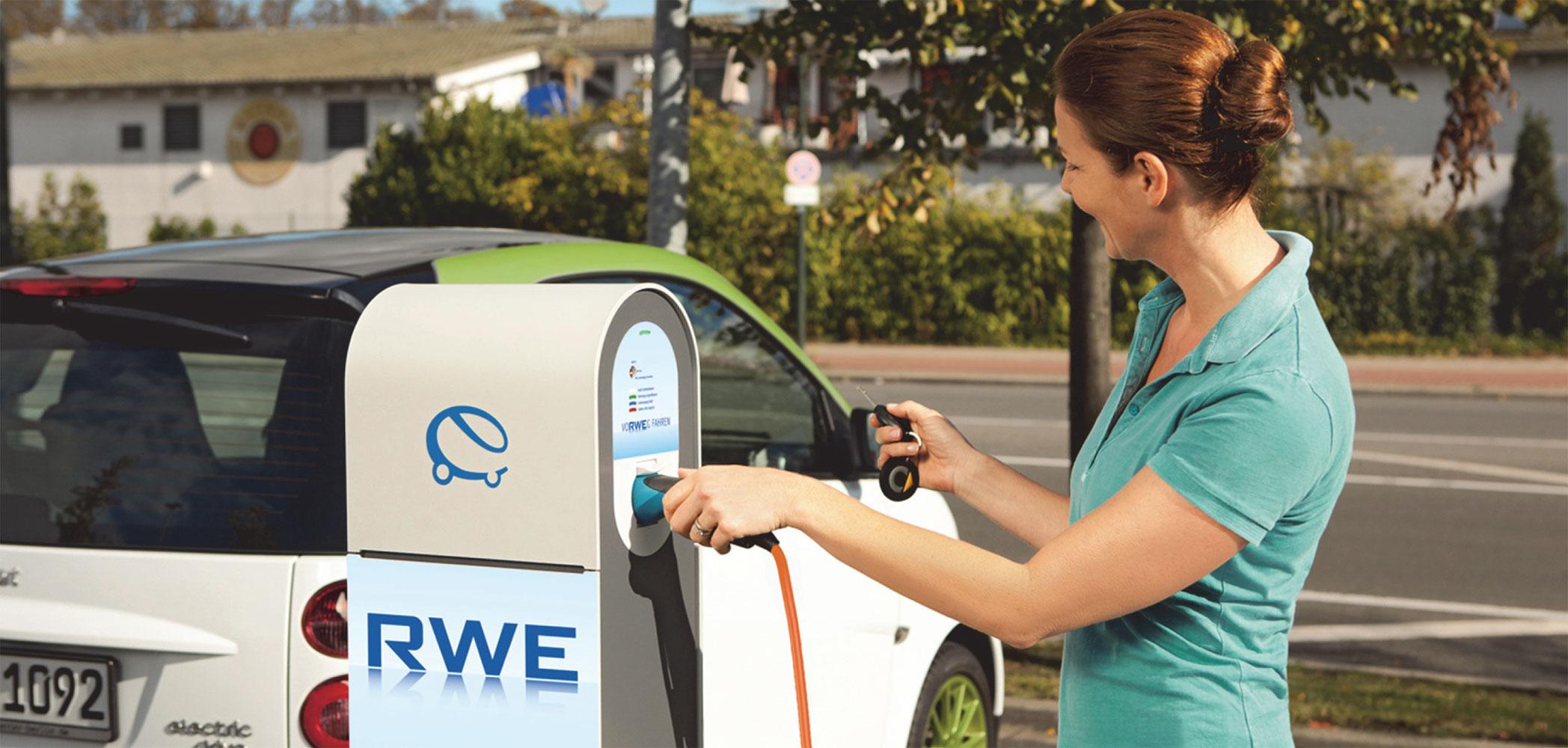 RWE nimmt 2.000. Ladepunkt in Betrieb
